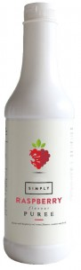 SIMPLY Raspberry Fruit Puree - 1 Litre